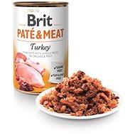 Brit Paté & Meat Turkey 400 g - Konzerva pre psov