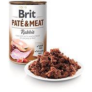 Brit Paté & Meat Rabbit 400 g - Konzerva pre psov