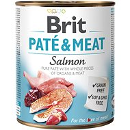 Brit Paté & Meat Salmon 800 g - Konzerva pre psov