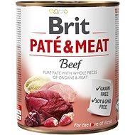 Brit Paté & Meat Beef 800 g - Konzerva pre psov