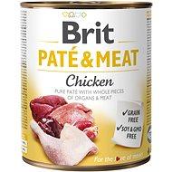 Brit Paté & Meat Chicken 800 g - Konzerva pre psov