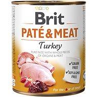 Brit Paté & Meat Turkey 800 g - Konzerva pre psov