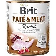 Brit Paté & Meat Rabbit 800 g - Konzerva pre psov