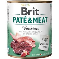 Brit Paté & Meat Venison 800 g - Konzerva pre psov