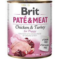 Brit Paté & Meat Puppy 800 g - Konzerva pre psov