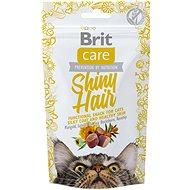 Brit Care Cat Snack Shiny Hair 50 g - Maškrty pre mačky