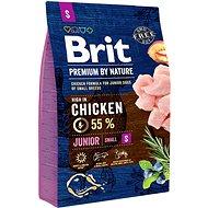 Brit Premium by Nature Junior S 3 kg - Granuly pre šteniatka