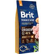 Brit Premium by Nature Adult M 15 kg - Granuly pre psov