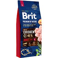 Brit Premium by Nature Adult L 15 kg - Granuly pre psov
