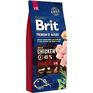 Brit Premium by Nature Senior L+XL 15 kg - Granuly pre psov
