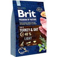 Brit Premium by Nature Light 3 kg - Granuly pre psov