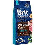 Brit Premium by Nature Sensitive Lamb 15 kg - Granuly pre psov