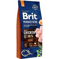 Granuly pre psov Brit Premium by Nature Sport 15 kg