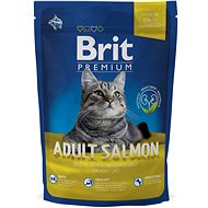 Brit Premium Cat Adult Salmon 800 g - Granuly pre mačky