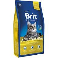 Brit Premium Cat Adult Salmon 8 kg - Granuly pre mačky