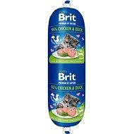Saláma pre mačky Brit Premium by Nature Sausage CAT Chicken & Duck 180 g