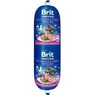 Saláma pre mačky Brit Premium by Nature Sausage CAT Chicken & Turkey Sterilised 180 g
