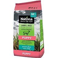 Nativia Puppy Lamb & Rice 3kg - Granuly pre šteniatka