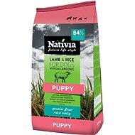 Nativia Puppy Lamb & Rice 15kg - Granuly pre šteniatka