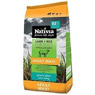 Nativia Adult maxi Lamb & Rice 15kg - Granuly pre psov