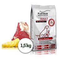 Platinum natural beef potatoes hovädzie so zemiakmi 1,5 kg - Granule pre psov