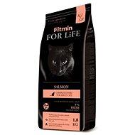 Fitmin cat For Life Salmon – 1,8 kg - Granuly pre mačky