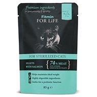 FFL cat pouch sterilized salmon 85g - Kapsička pre mačky