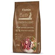 Fitmin dog Purity Rice Senior&Light Venison&Lamb - 2 kg - Granuly pre psov