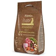 Fitmin dog Purity Rice Semimoist Rabbit&Lamb - 4 kg - Granuly pre psov