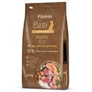 Granuly pre šteniatka Fitmin dog Purity Rice Puppy Lamb & Salmon 12 kg