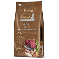 Fitmin dog Purity Rice Adult Fish&Venison - 12 kg - Granuly pre psov