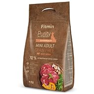 Fitmin dog Purity GF Adult Mini Beef - 4 kg - Granuly pre psov