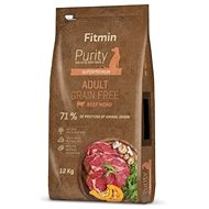 Granuly pre psov Fitmin dog Purity GF Adult Beef - 12 kg