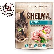 Shelma Junior bezobilné granule s čerstvým morčacím pre mačiatka 750 g - Granuly pre mačiatka