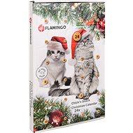 Flamingo Adventný kalendár s kuracími pamlskami pre mačky - Adventný kalendár pre mačky