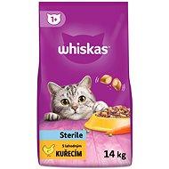 Whiskas granule Sterille s kuracím 14kg - Granuly pre mačky