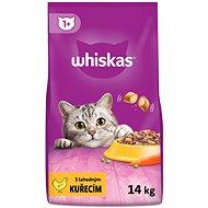 Whiskas granule s kuracím 14kg - Granuly pre mačky