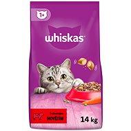Whiskas granule s hovädzím 14kg - Granuly pre mačky