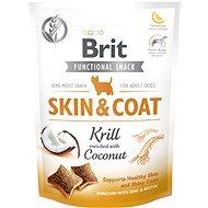 Maškrty pre psov Brit Care Dog Functional Snack Skin&Coat Krill 150 g
