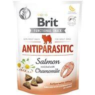 Maškrty pre psov Brit Care Dog Functional Snack Antiparasitic Salmon 150 g