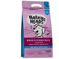 Barking Heads Doggylicious Duck (Small breed) 4kg - Granuly pre psov