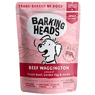 Barking Heads Beef Waggington kapsička 300 g - Kapsička pre psov