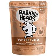 Barking Heads Top Dog Turkey kapsička 300 g - Kapsička pre psov