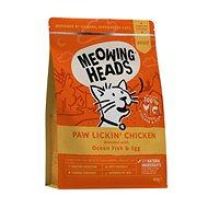 Meowing Heads Paw Lickin' Chicken 450 g - Granule pre mačky