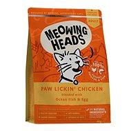 Meowing Heads Paw Lickin' Chicken 4kg - Granule pre mačky