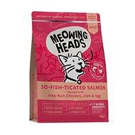 Meowing Heads So-fish-ticated Salmon 450 g - Granule pre mačky