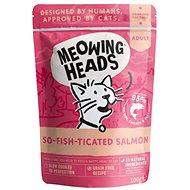 Meowing Heads So-fish-ticated Salmon kapsička 100 g - Kapsička pre mačky