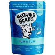Meowing Heads Surf & Turf kapsička 100 g - Kapsička pre mačky