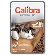 Calibra Cat  kapsička Premium Adult Lamb & Poultry 100g - Kapsička pre mačky