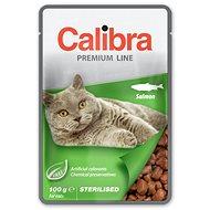 Calibra Cat  kapsička Premium Sterilised Salmon 100g - Kapsička pre mačky